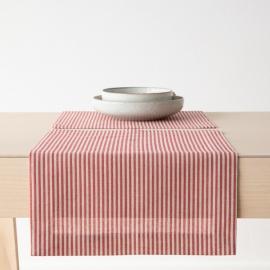Paños de Cocina de Lino y Algodón Red Jazz