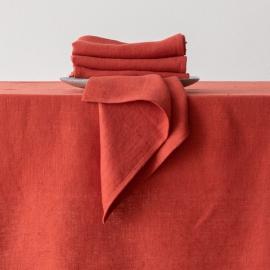 Servilleta de Lino Orange Lara