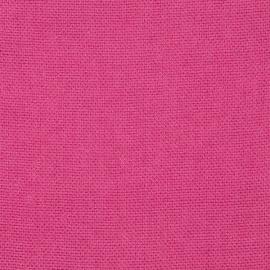 Tela de Lino Bright Pink Rustico