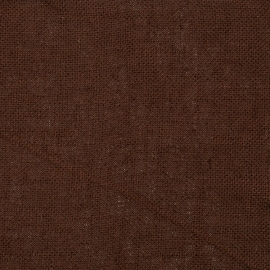 Brown Linen Fabric Sample Rustico