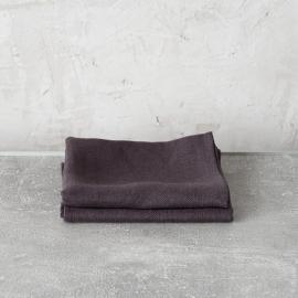 Grey Toallas de Invitadoss de Lino Lara