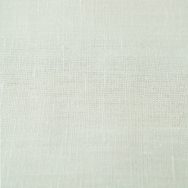 Tela de Lino Off White Plain