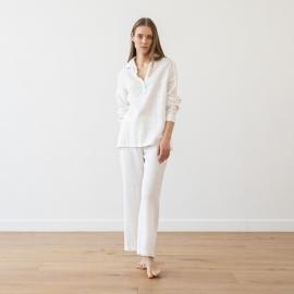 Pijama de Lino Grey Alma
