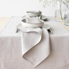 Mantel de Lino Silver Lara