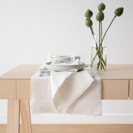 Mantel Individual Blanquecino de Lino Rustic