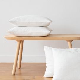 Funda de Cojin de Lino Off White Lara