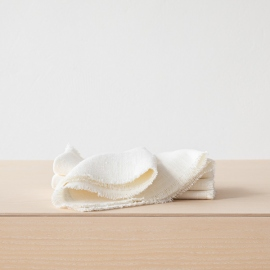 Servilleta de Lino Off White Rustic