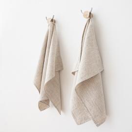 Toallas de Invitadoss de Lino Natural Provence