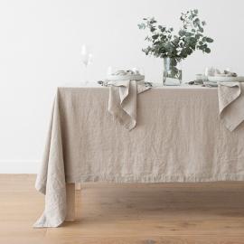 Mantel de Lino Natural Stone Washed