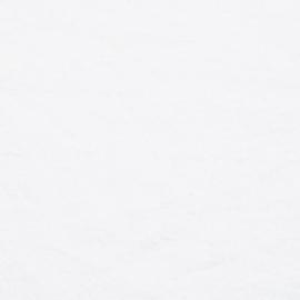Optical White Linen Fabric Sample Stone Washed