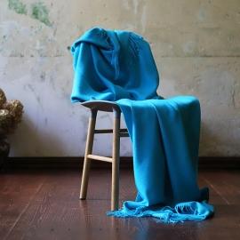 Manta de Bebe Alpaca Turquoise Bella