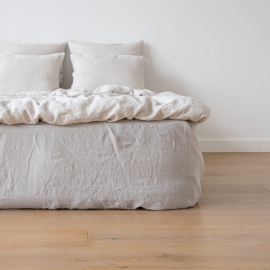 Sábana Encimera de Lino Silver Stone Washed
