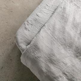 Taupe Sábana Encimera de Lino Stone Washed