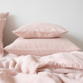 Rosa Stone Washed Bed Linen Pillow Case
