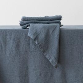Servilleta de Lino Blue Stone Washed