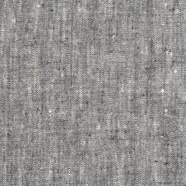 Francesca Black fabric prewashed