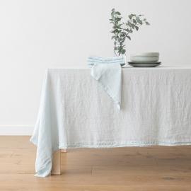 Mantel de Lino Ice Blue Stone Washed