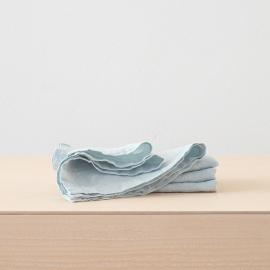 Servilleta de Lino Ice Blue Stone Washed