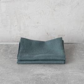 Balsam Green Toallas de Invitadoss de Lino Lara