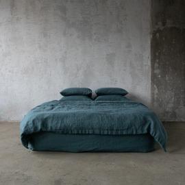 Balsam Verde Edredon de Lino Stone Washed