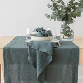 Servilleta de Lino Balsam Verde Stone Washed
