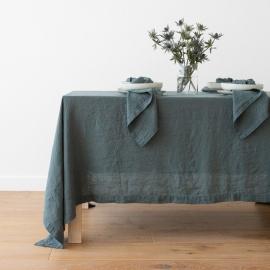 Balsam Verde Mantel de Lino Stone Washed