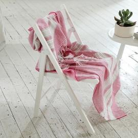 Manta de Lino Bright Pink Felix