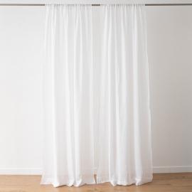 Cortina de Lino Optical White Garza