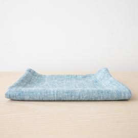 Toalla de Baño de Lino Marine Blue Francesca