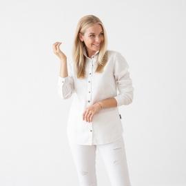 Blanco Camisa de Lino Ernesto