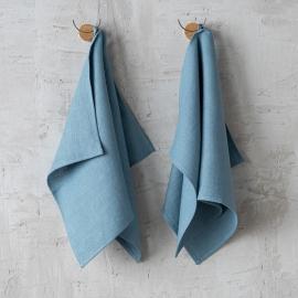 Paños de Cocina de Lino Stone Blue Lara