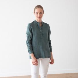 Balsam Green Camisa de Lino Toby