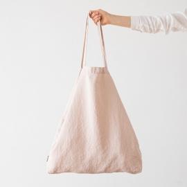 Bolsa de compras de lino Terra Latte