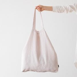 Bolsa de compras de lino Terra Poudre