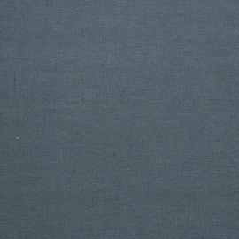 Muestra de Tela de Lino Blue Upholstery