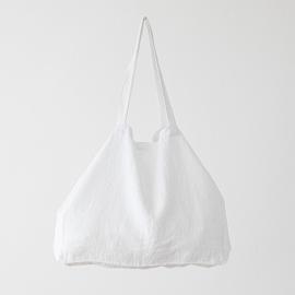 Bolsa de lino Terra White