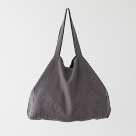 Bolsa de lino Terra Steel Grey