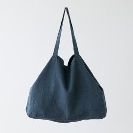 Bolsa de lino Terra Blue