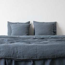 Edredón de Lino Blue Stone Washed